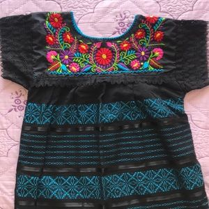 "Free people ""LIKE""boho styled embroidered dress."